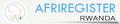 afriregister.rw logo!