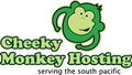 cheekymonkeyhosting.co.nz logo!