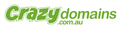 crazydomains.com logo!