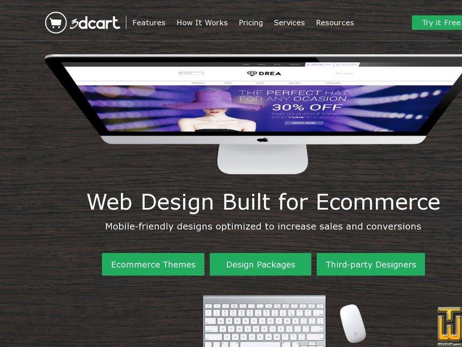 Screenshot of BRONZE from 3dcart.com
