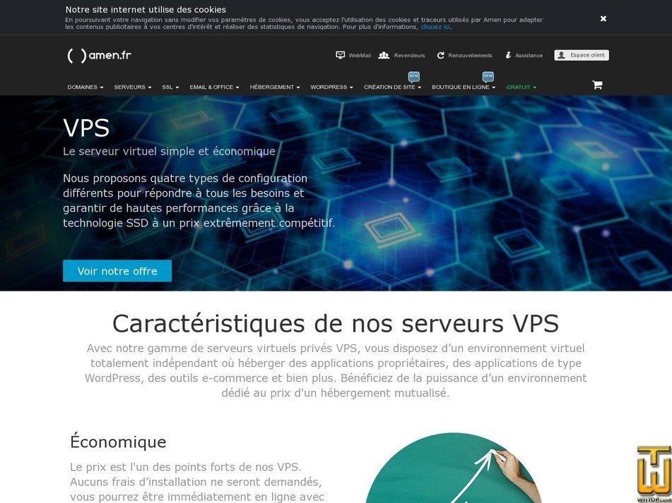 screenshot of Medium from amen.fr