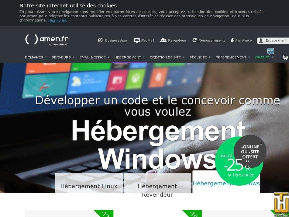 Screenshot of Smart from amen.fr