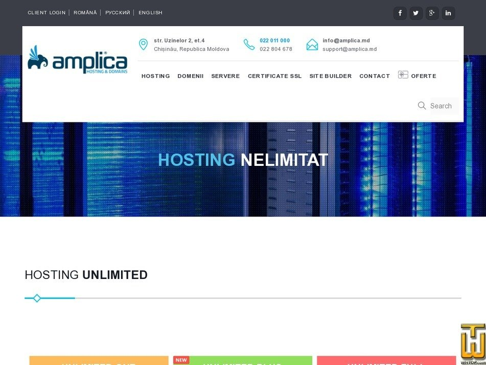 Screenshot of Unlimited Full from amplica.md
