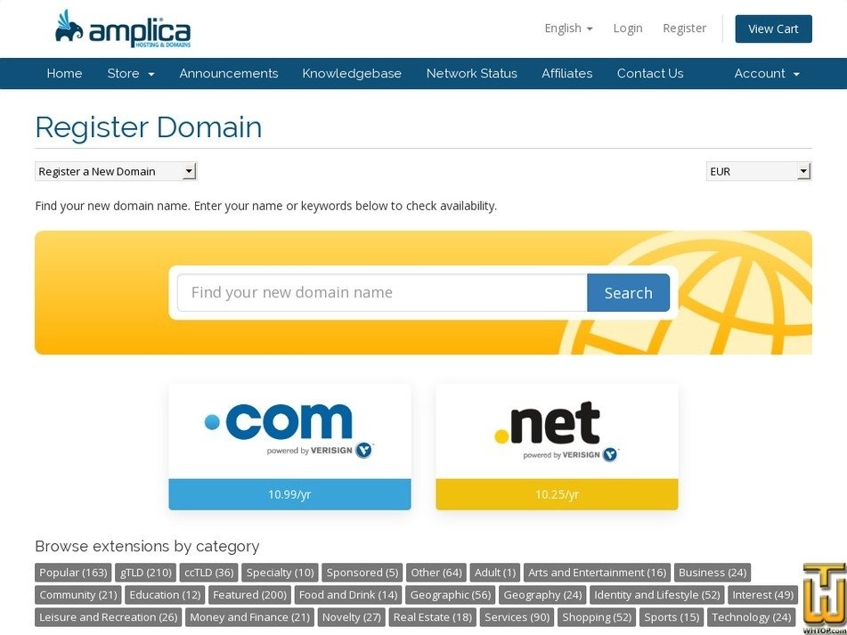 Screenshot of .vip from amplica.md