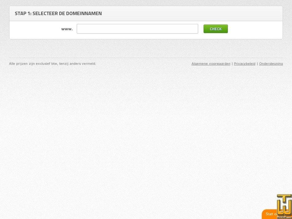 Screenshot of .app, .shop, .online, .amsterdam, .club, .xyz, 500+ more from antagonist.nl