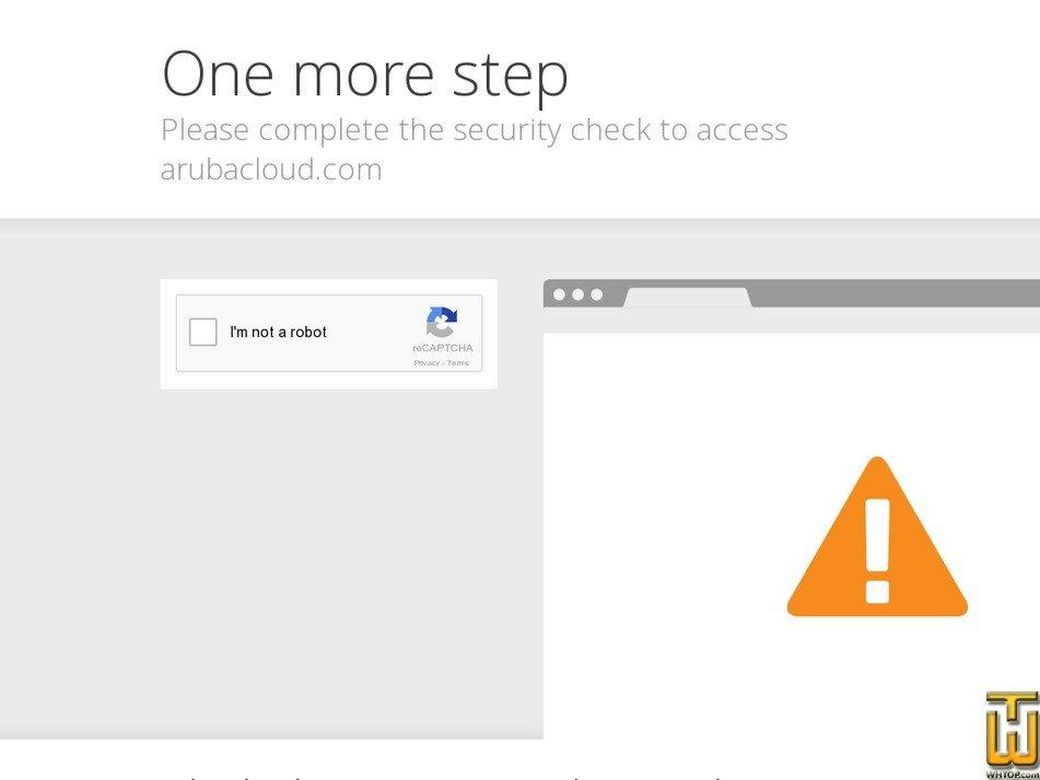 Screenshot of Cloud VPS Server Smart from arubacloud.com