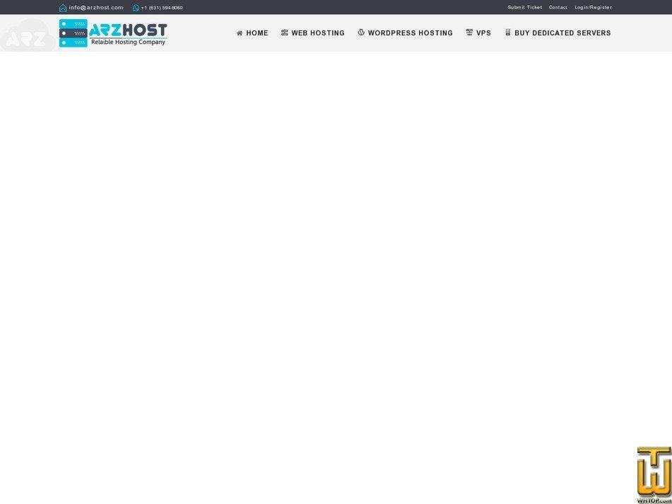 screenshot of VPS CLOUD 1 Linux from arzhost.com