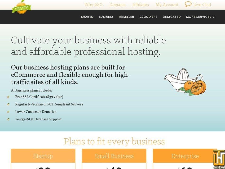 Screenshot of Enterprise from asmallorange.com