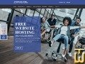 screenshot of Free Hosting from atspace.com