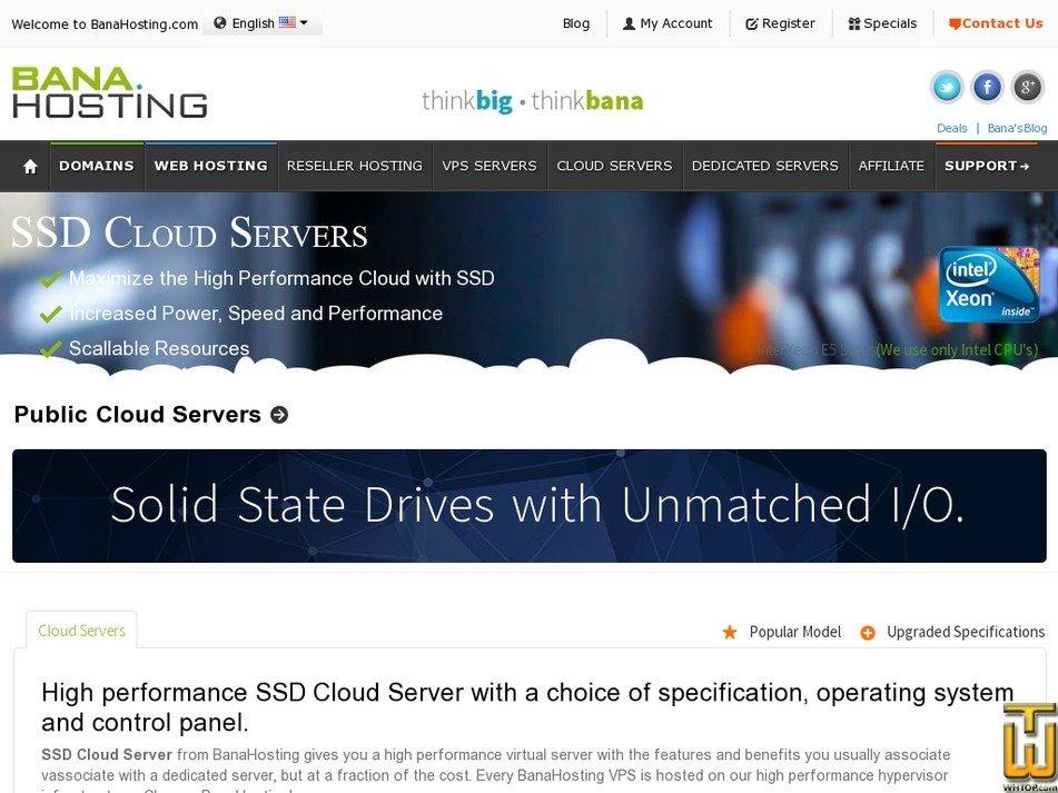 Screenshot of Node1 from banahosting.com
