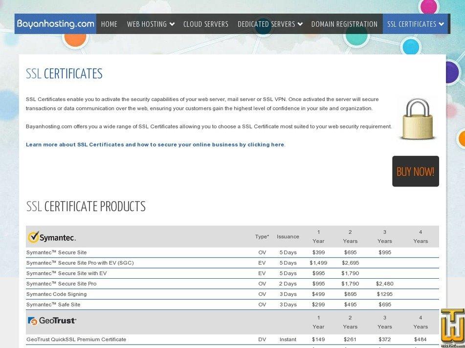 Comodo Essential Ssl Certificate From Bayanhosting 42415