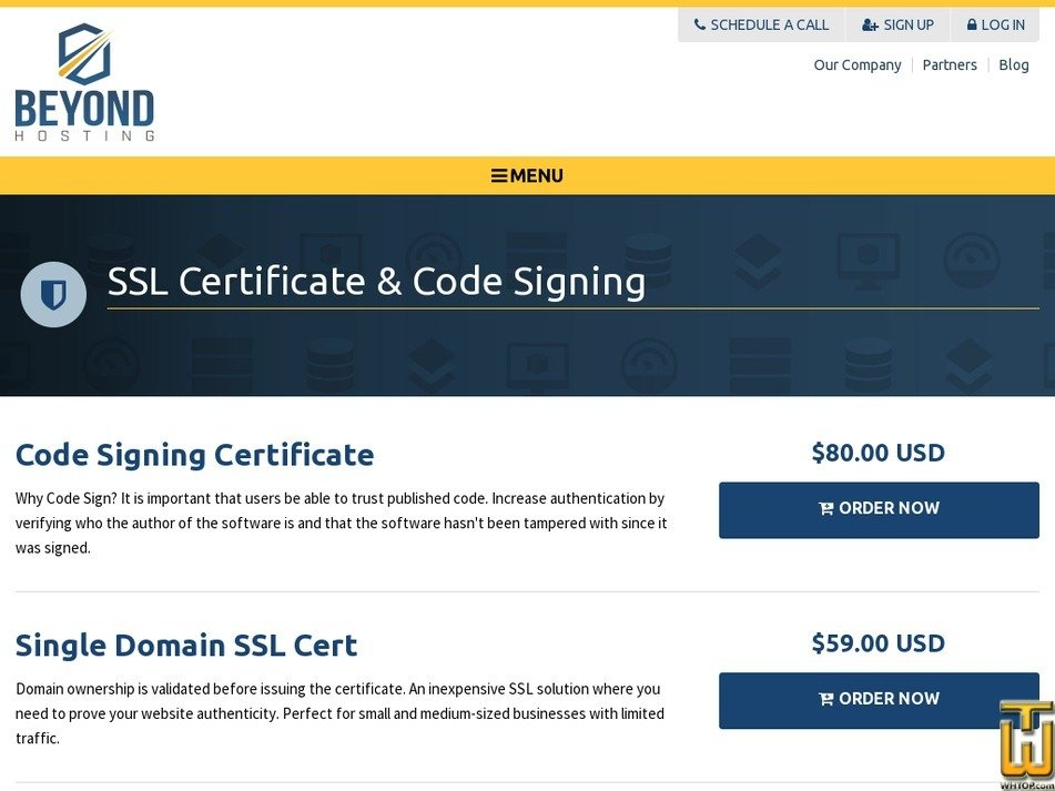 Code Signing Certificate From Beyondhosting 39958