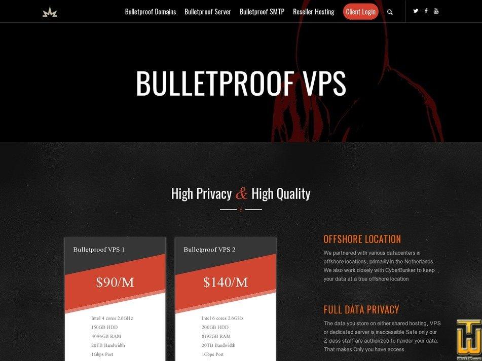 Bulletproof VPS 1