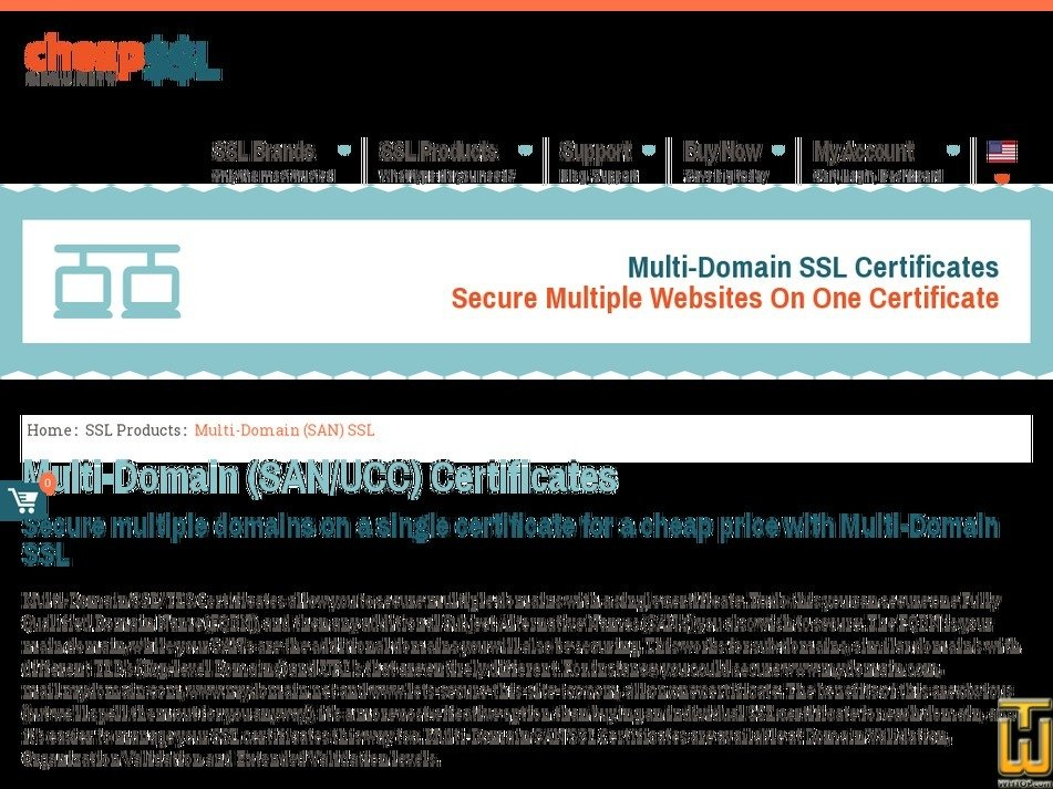 Multi Domain Ssl Certificate From Cheapsslsecurity 61166
