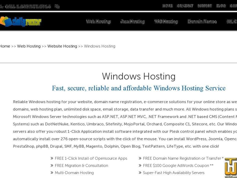 Screenshot of WindowsPERSONAL from dailyrazor.com