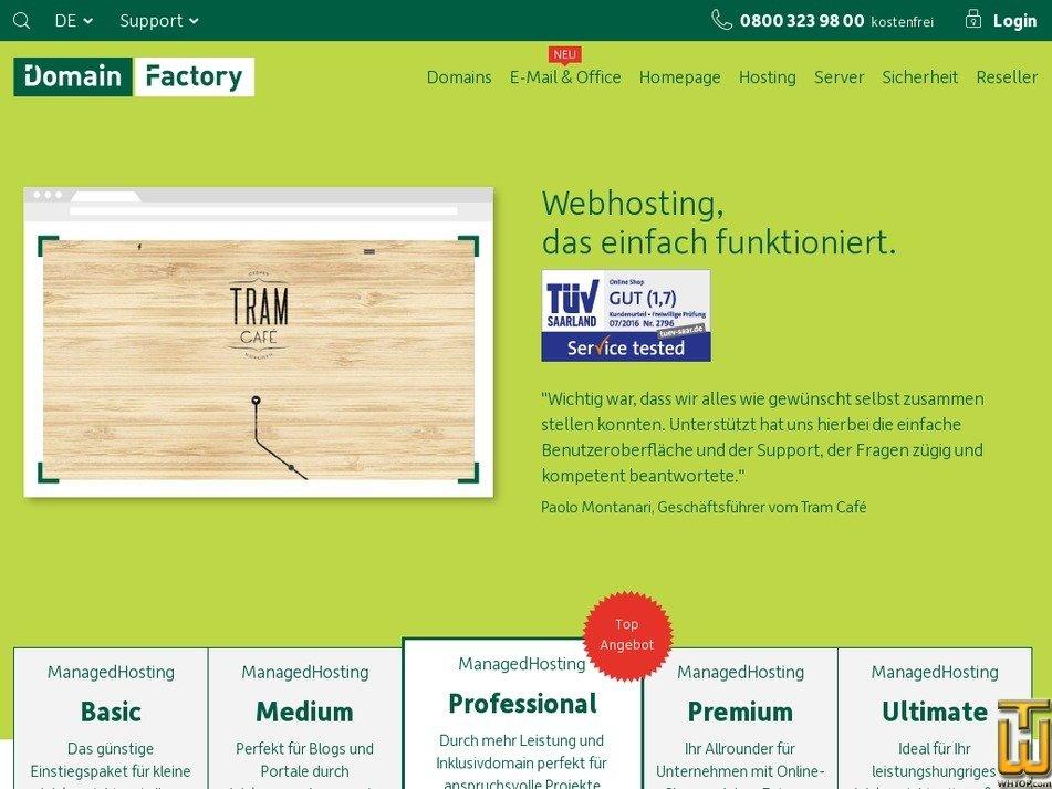 domain factory web