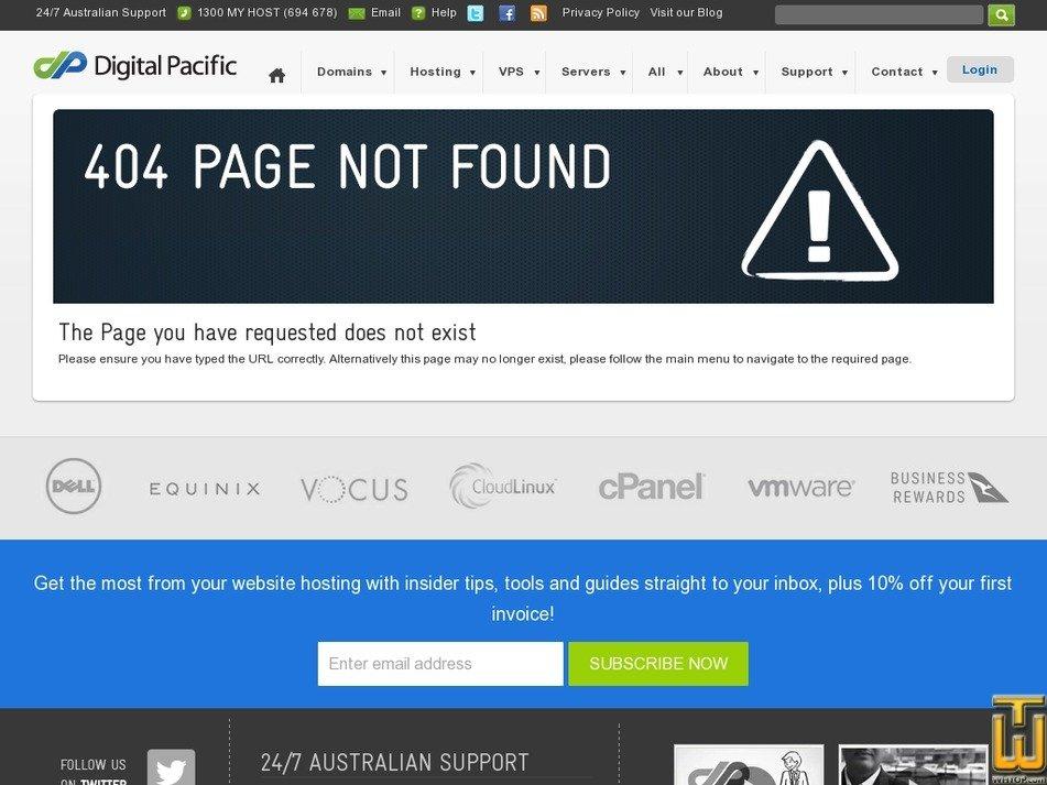 Screenshot of Reseller Starter from digitalpacific.com.au