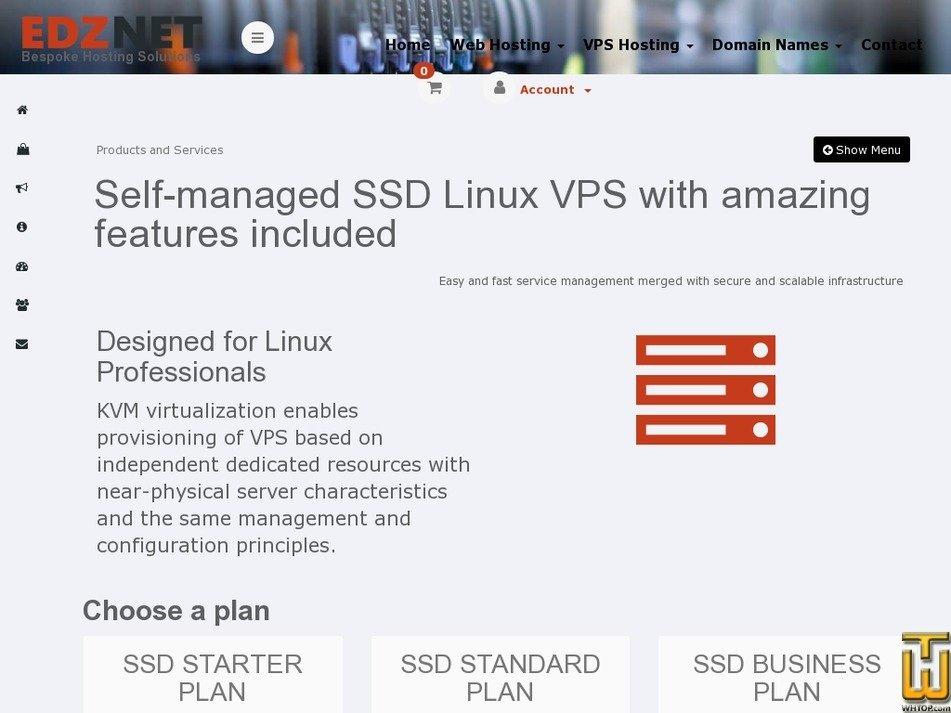 Screenshot of SSD BUSINESS PLAN from edznet.com