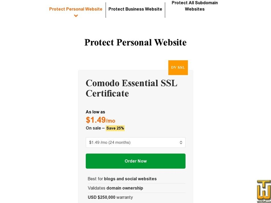 Ssl Certificates Protect Business Website Comodo 64849