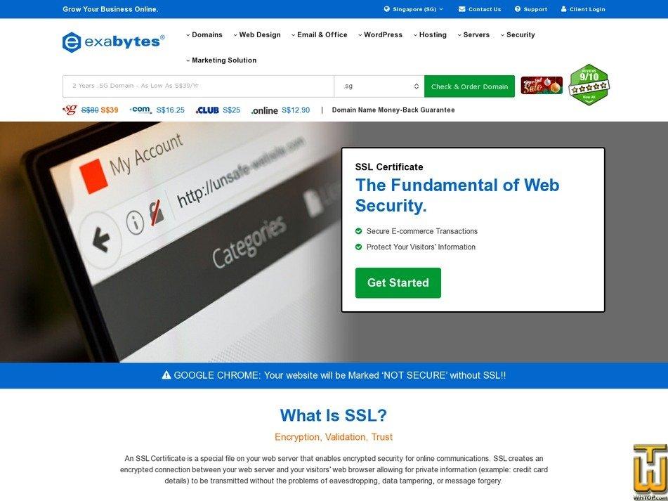Protect All Subdomain Websites Comodo Premium 78050