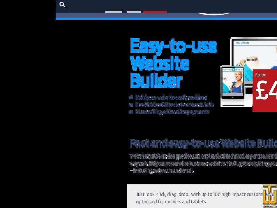 website builder uk