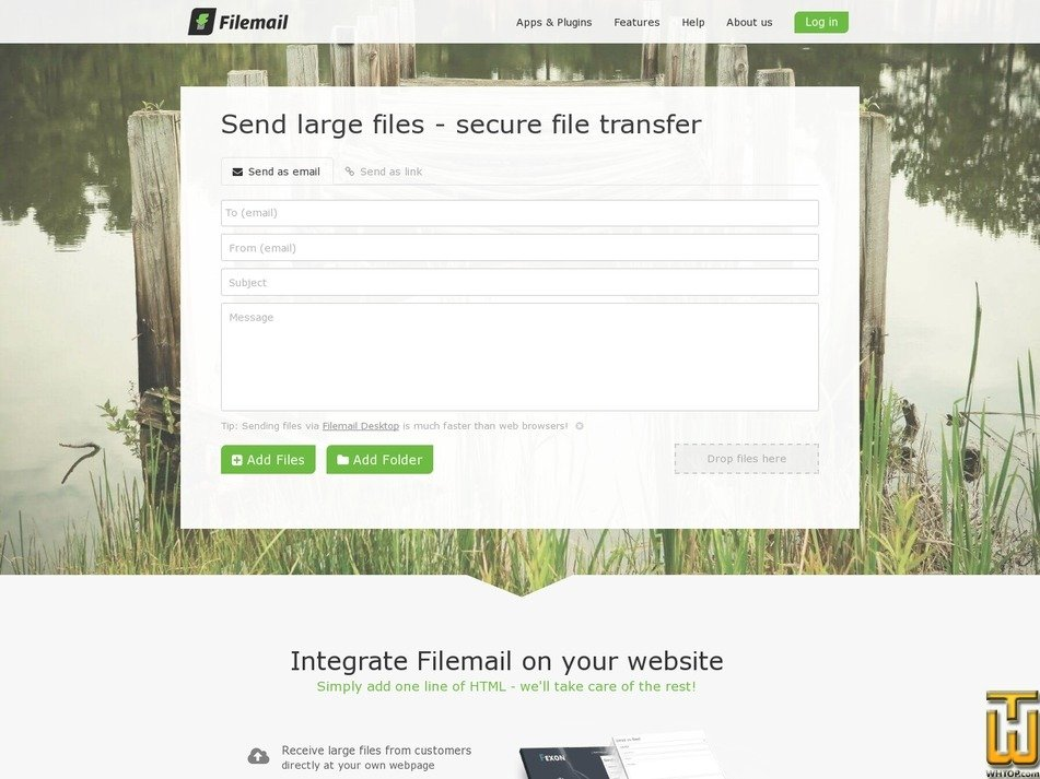 FILEMAIL Free > filemail com, USD 0 00/mo  on Shared, Linux