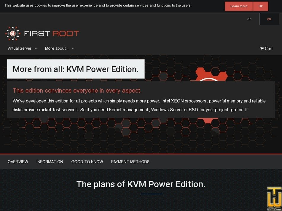 Screenshot of KVM Power Edition Pro from first-root.com