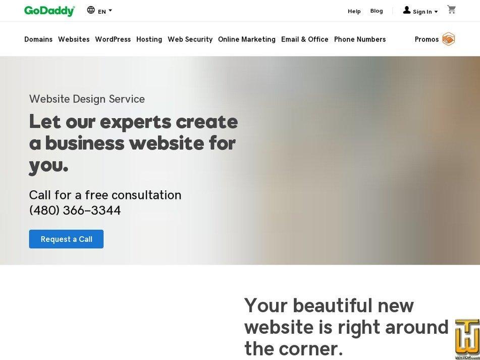 screenshot of Standard from godaddy.com