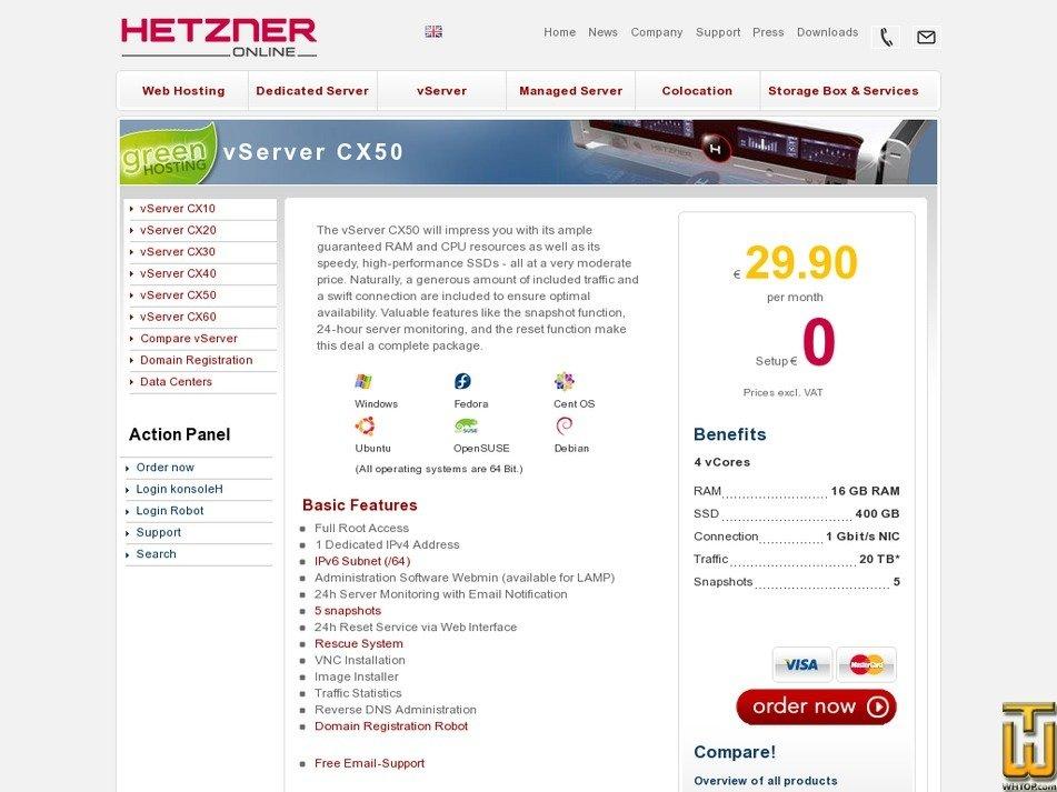 vServer CX50