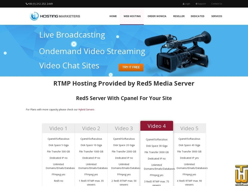 Screenshot of Video 1 from hosting-marketers.com