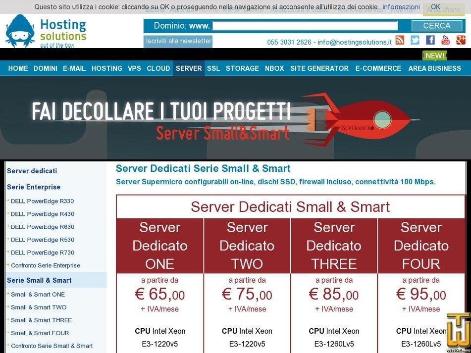 Dedicated server configuration y w