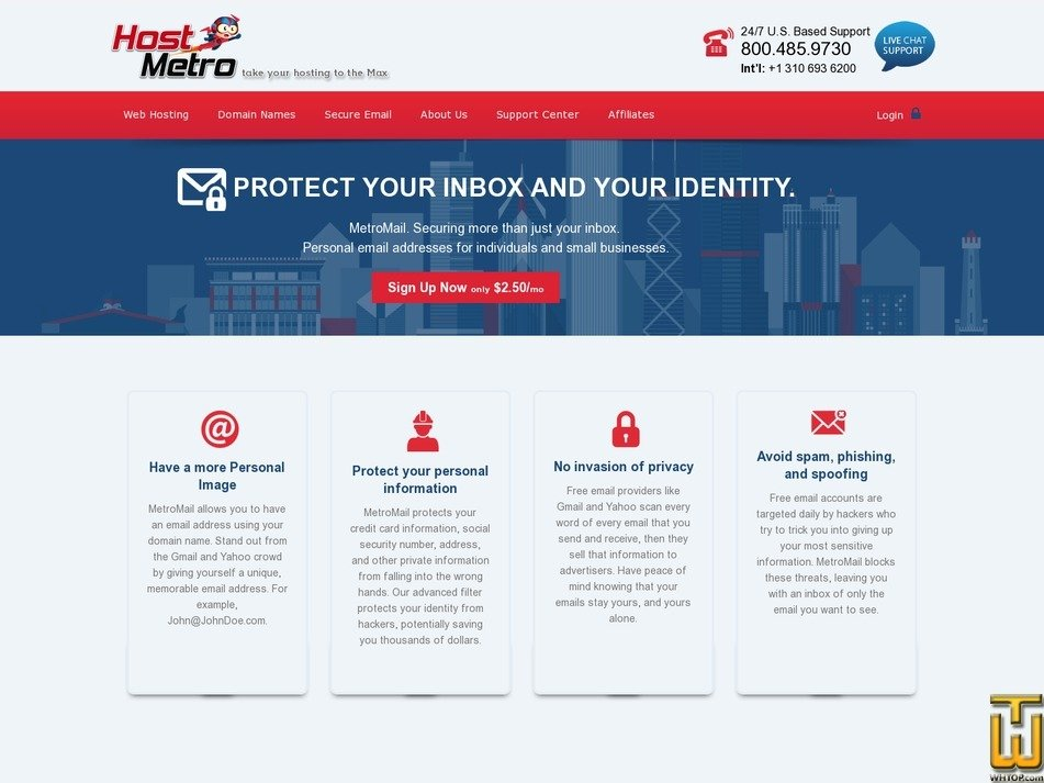 METROMAIL SECURE EMAIL