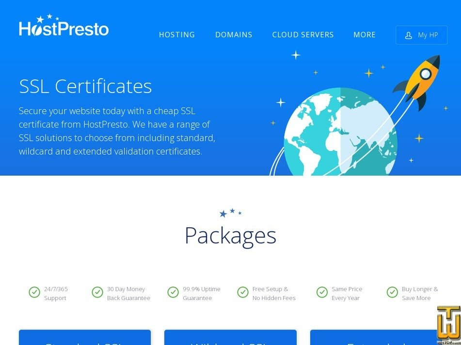 Wildcard Ssl From Hostpresto 64351 On Ssl Certificates
