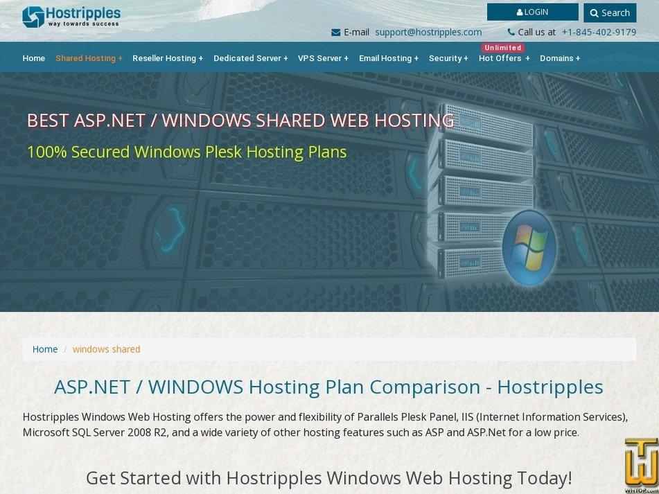 Screenshot of SMART from hostripples.com