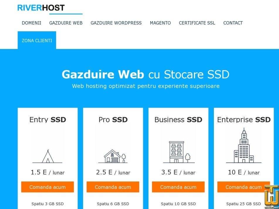 Screenshot of Enterprise SSD from hostriver.ro