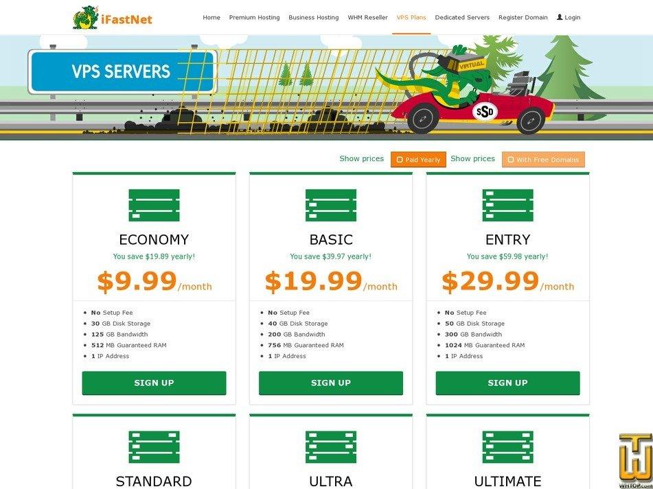screenshot of Economy from ifastnet.com