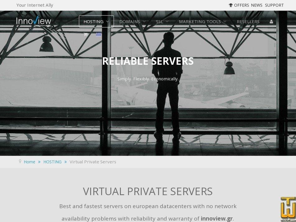 Screenshot of INNOVIEW Ruby from innoview.gr
