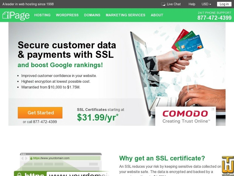domain validated ssl from ipage, #51981 on ssl certificates,