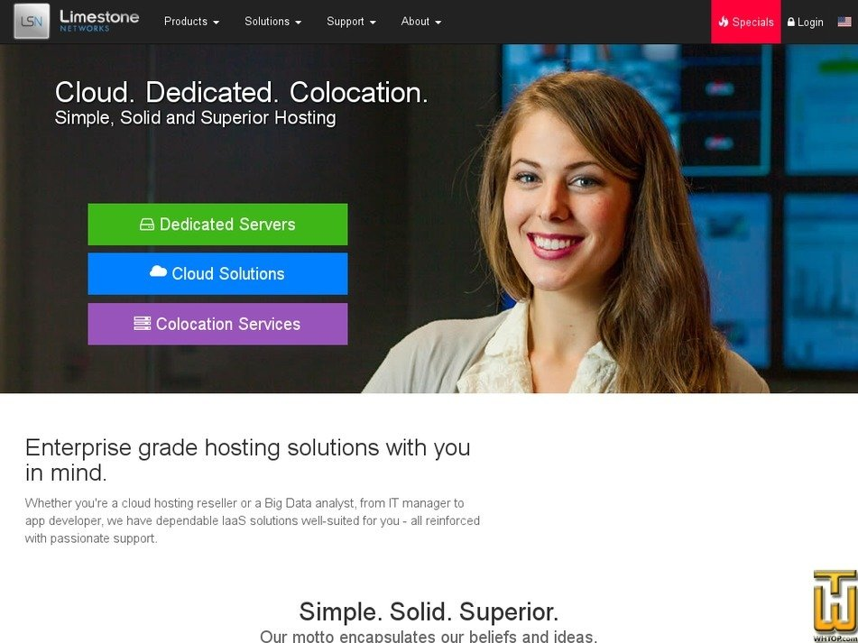 screenshot of Intel Core2Duo E8400 from limestonenetworks.com