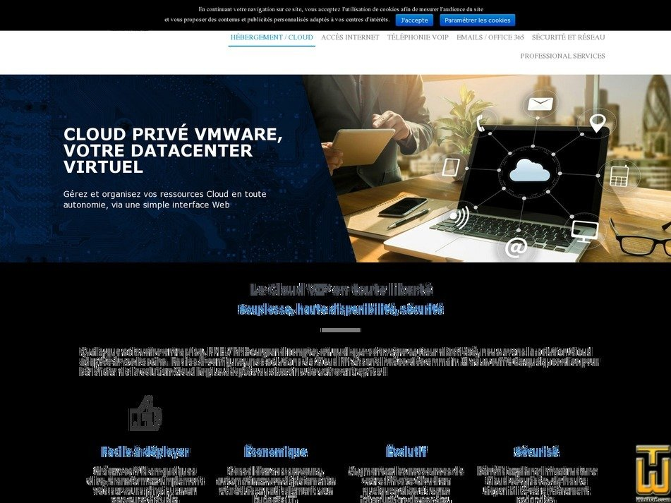 screenshot of Cloud XS from magic.fr