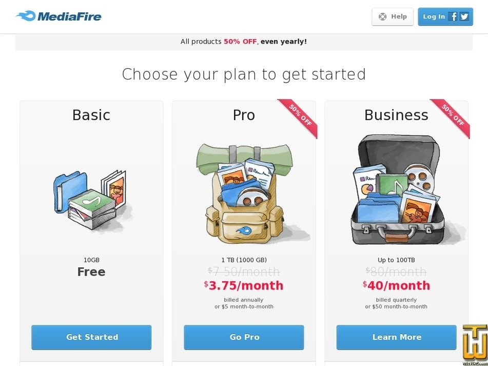 Screenshot of Basic from mediafire.com