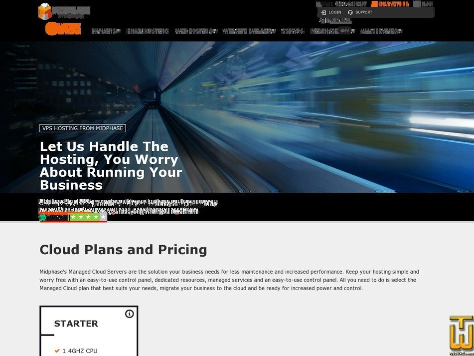 Screenshot of Starter from midphase.com