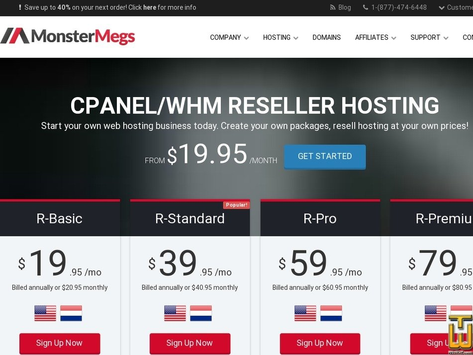 Screenshot of R-Basic from monstermegs.com