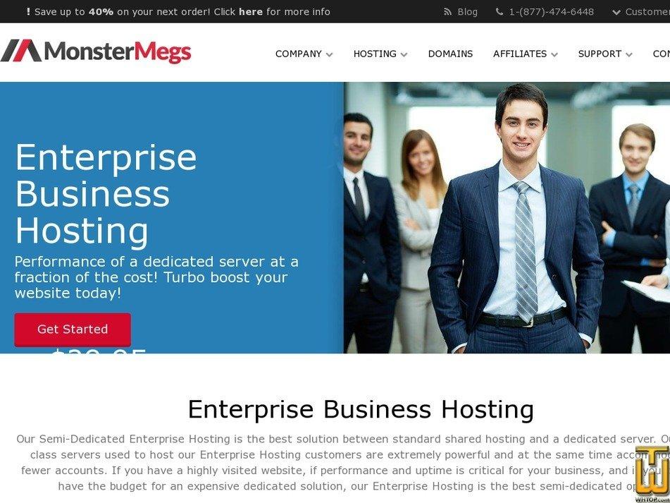 Screenshot of Enterprise 1 from monstermegs.com
