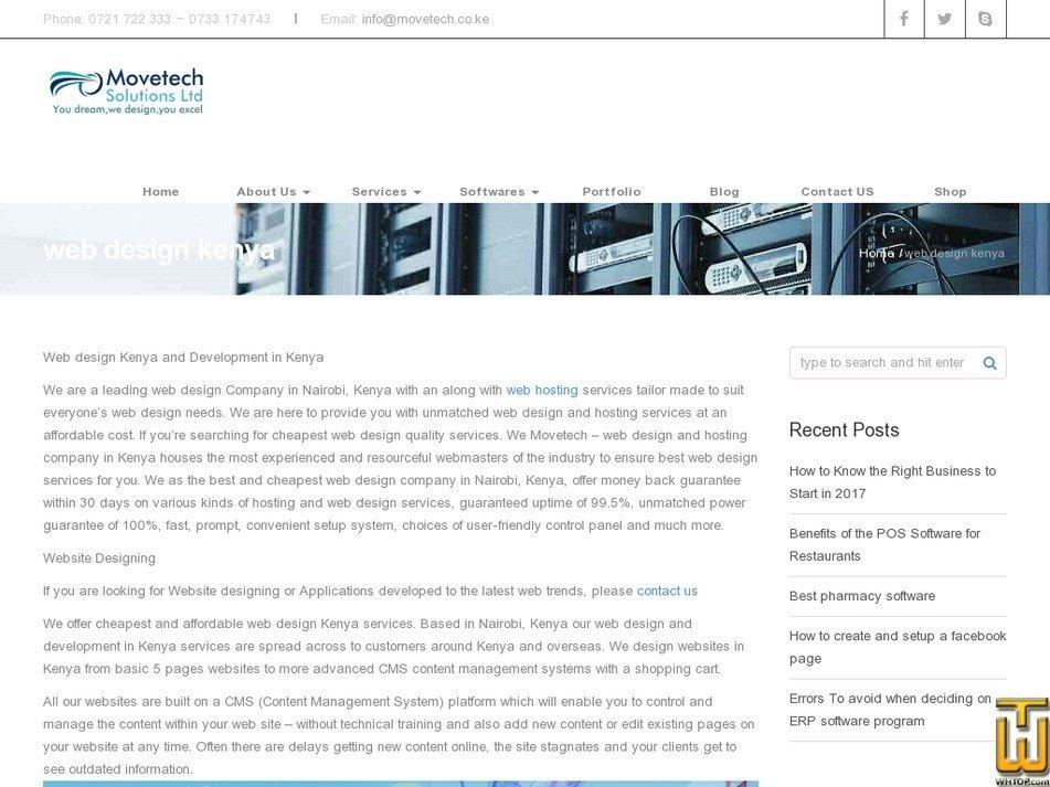 Basic Web Design Movetechsolutions Com 47328