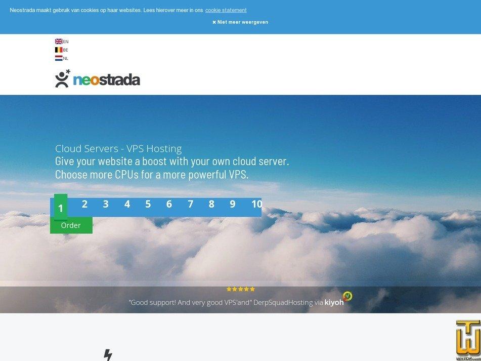 screenshot of 1 Core from neostrada.nl