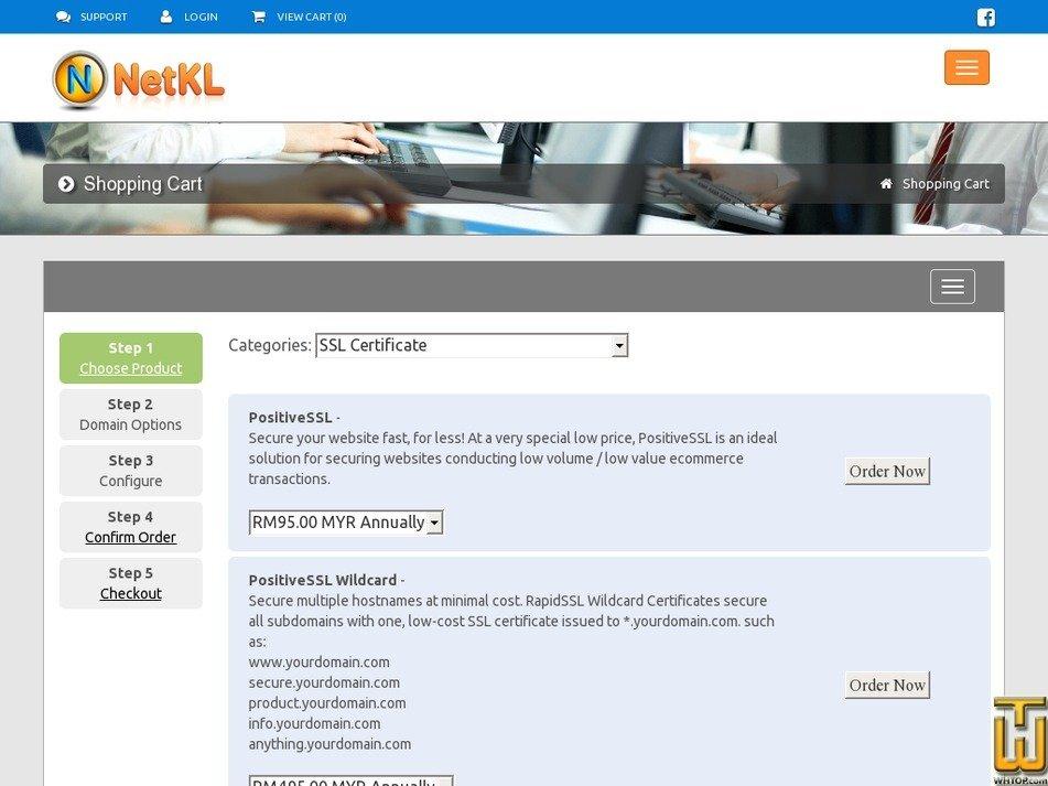 Positivessl Wildcard From Netkl 42668 On Ssl Certificates