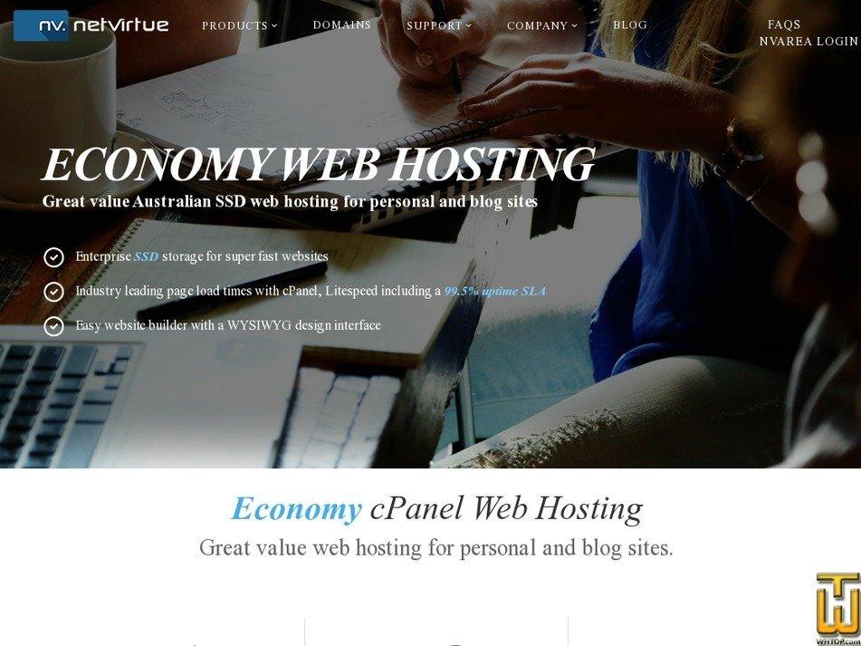 Screenshot of Entry from netvirtue.com.au
