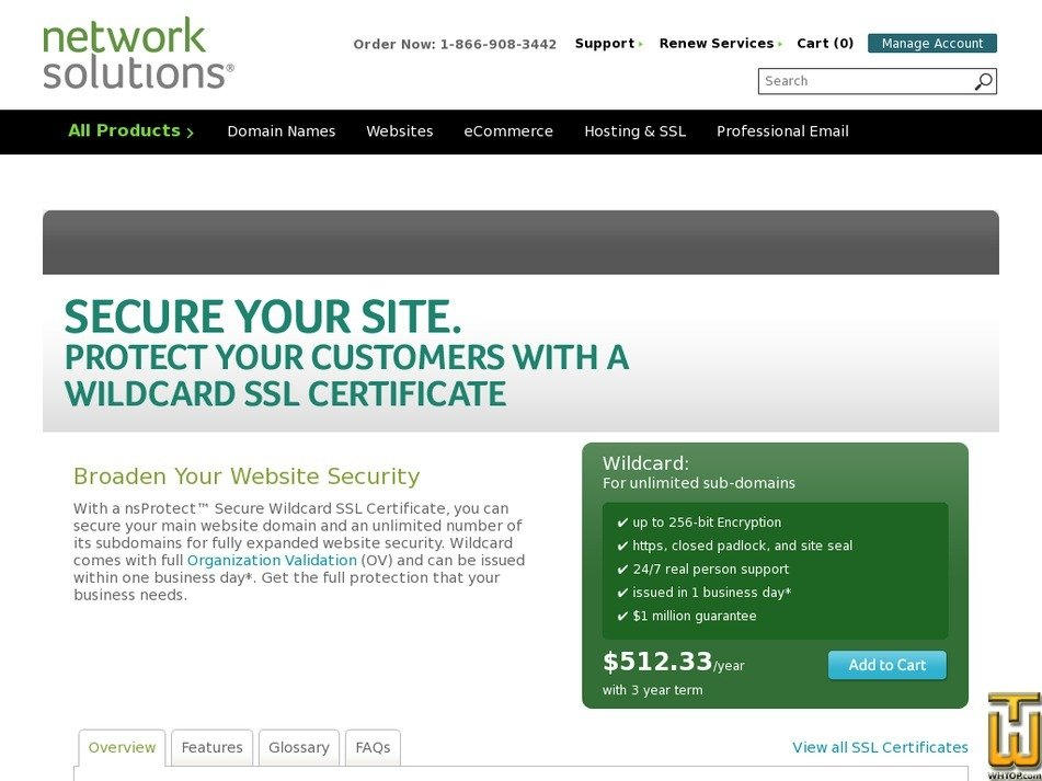 Wildcard From Networksolutions 38518 On Ssl Certificates