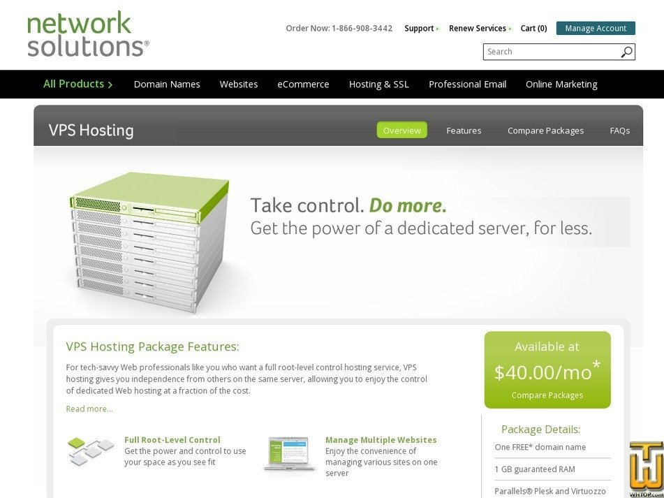 Vps Professional From Networksolutions 38508 On Vps Linux